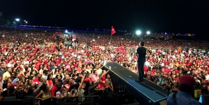 """Silvestre Dangond ¡Monumental! con el  lanzamiento de """"Sigo Invicto"""" en Riohacha"""
