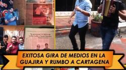 Exitosa gira de medios en la guajira de Luifer Cuello & Daniel Maestre