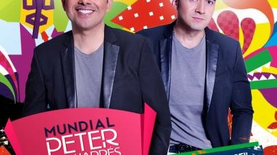 Peter Manjarres & Sergio Luis Rodriguez le Mostraron a los Medios el DVD Mundial