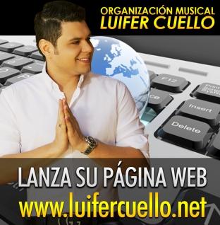 LUIFER CUELLO LANZA SU PÁGINA WEB