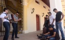 Gilberto Pupy Castillo y Luis Carlos Grandett grabaron el video musical 'No le pares bola'