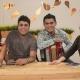 Fotos de Churo Diaz y Elias Mendoza Promocionando Pal Mundo en los medios de comunicación