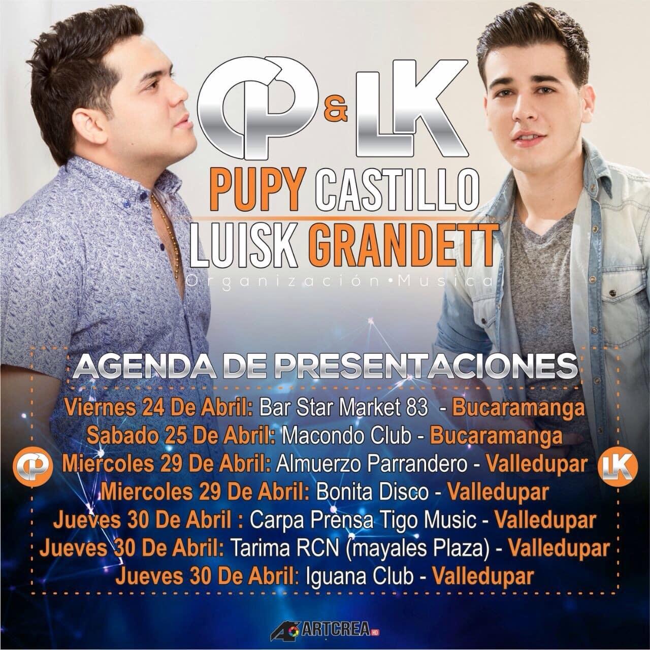 GENDA PUPY CASTILLO Y LUISK GRANDETT