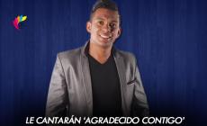 EL MATU CASTILLA & 'PIPE' MENDOZA  LE CANTARAN 'AGRADECIDO CONTIGO' A BARANOA, ATLANTICO
