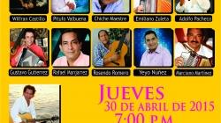 Río Luna Espectacular presenta Noche de Bohemia con los Compositores y la Parranda Río con los mejores artistas del vallenato
