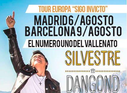 Tour Europa Sigo invicto 2015 Silvestre Dangond