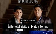 Meta y Tolima revolucionados por Los K Morales