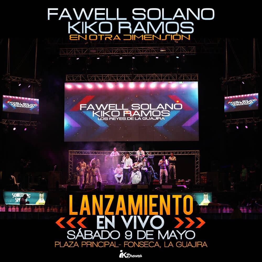 Fawell Solano y Kiko Ramos en otra dimension