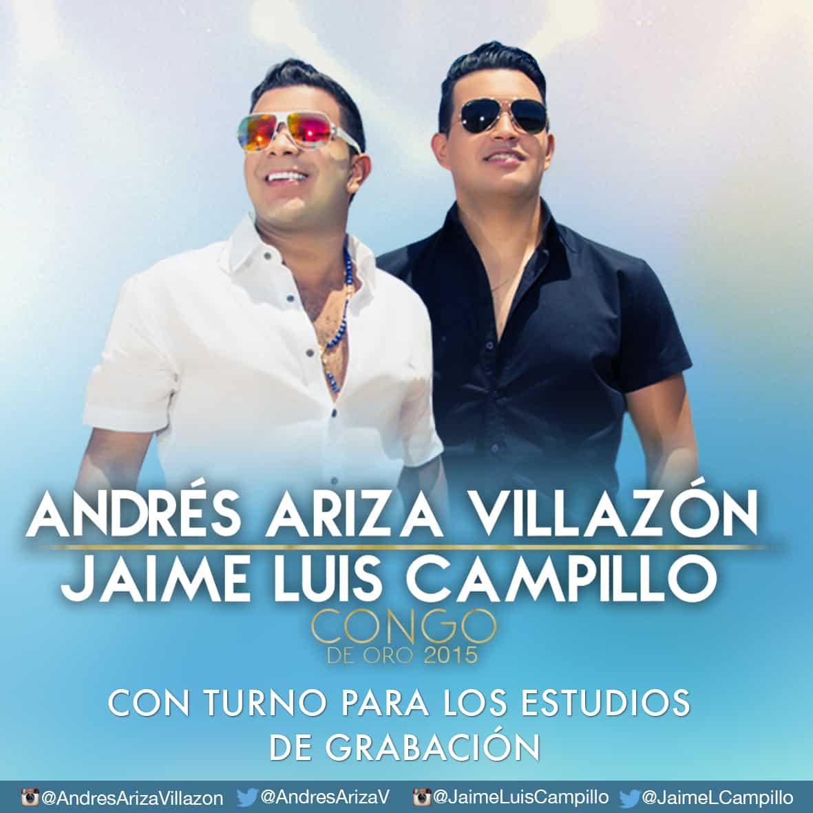 Andrés Ariza Villazón y Jaime Luís Campillo con turno para los estudios de grabación