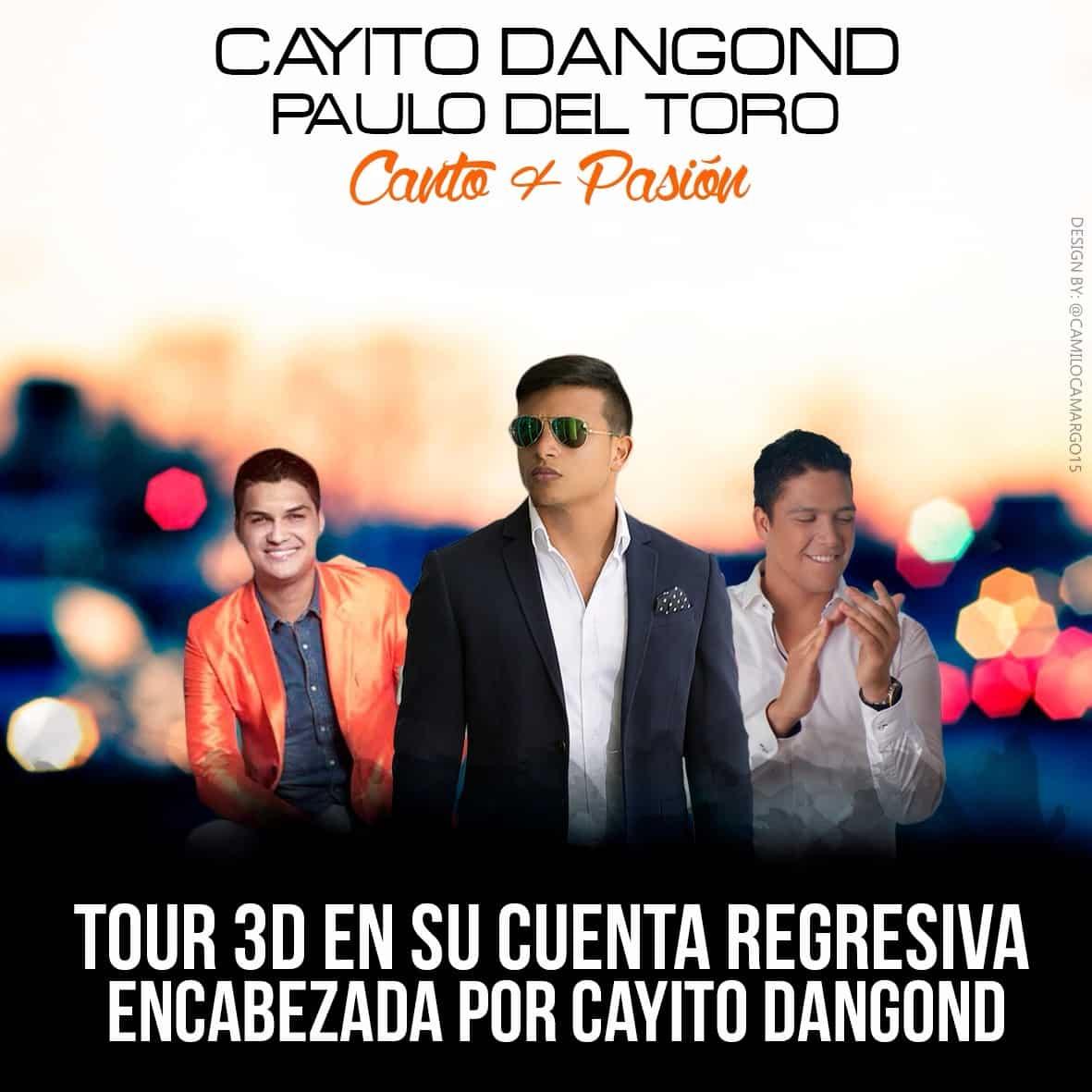 TOUR 3D EN SU CUENTA REGRESIVA ENCABEZADA POR CAYITO DANGOND