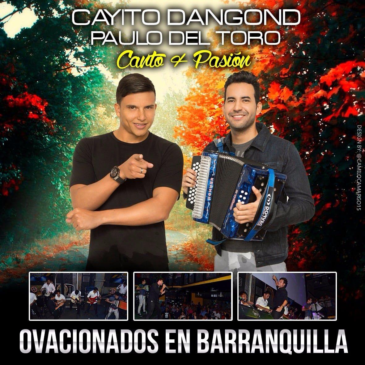 Cayito Dangond y Paulo del Toro ovacionados en Barranquilla