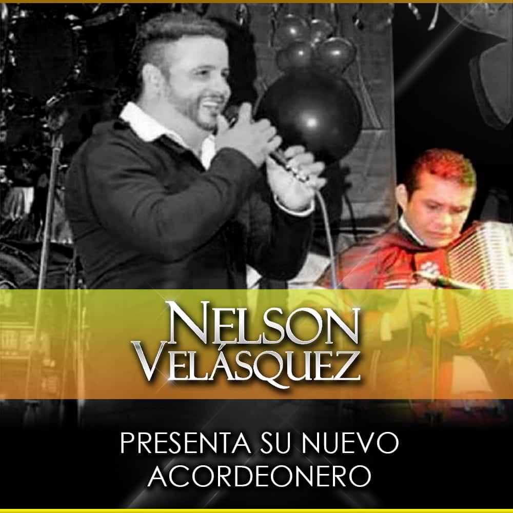 Nelson Velásquez  presenta su nuevo acordeonero