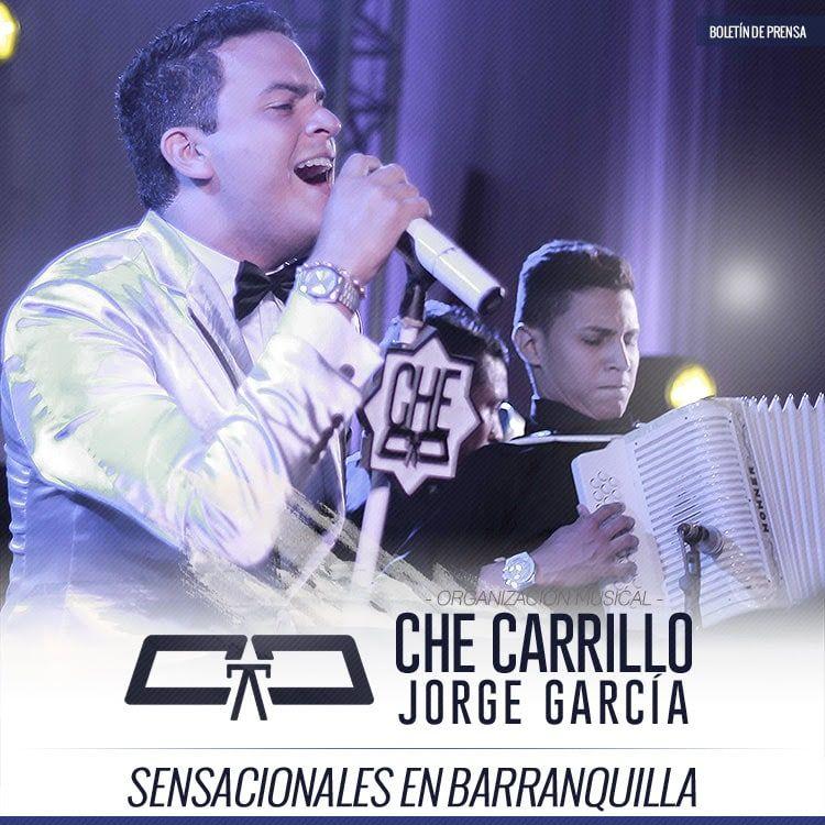 Che Carrillo y Jorge García Sensacionales en Barranquilla