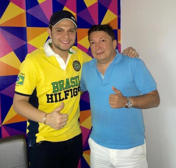 Luifer Cuello y Saul Benitez