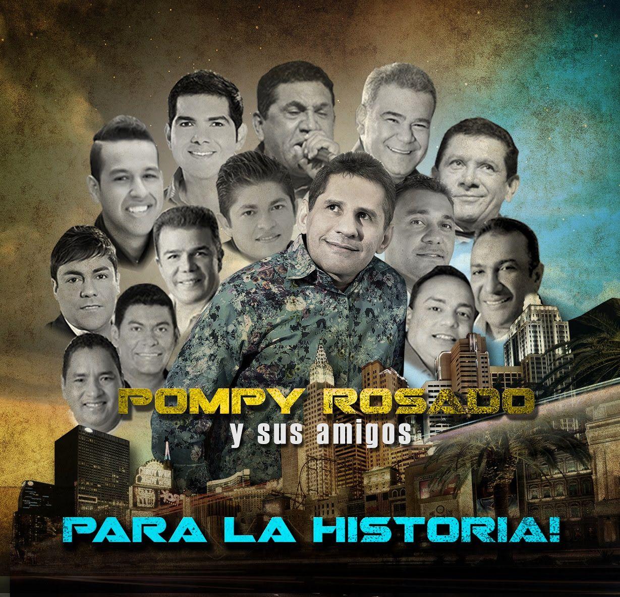 Para la historia Pompy Rosado y sus amigos via @Vallenatoalcien
