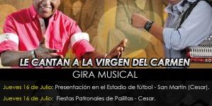 Silvio Brito & Pangue Maestre Le cantan a la Virgen del Carmen