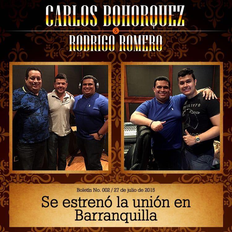CARLOS BOHORQUEZ & RODRIGO ROMERO en Barranquilla