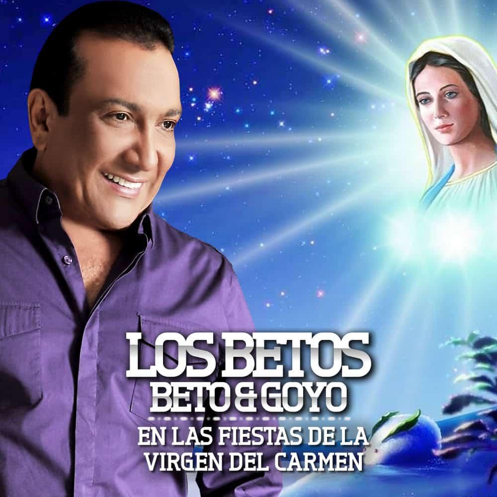 Beto  Zabaleta en las fiestas de la virgen del carmen