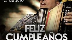 Hoy Rolando Ochoa esta  de cumpleaños