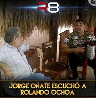 Jorge Oñate escuchó a Rolando Ochoa