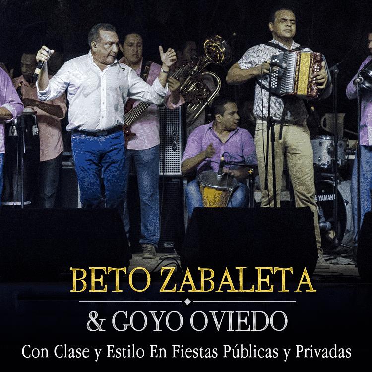Beto Zabaleta y Goyo Oviedo Con Clase y Estilo En Fiestas Públicas y Privadas