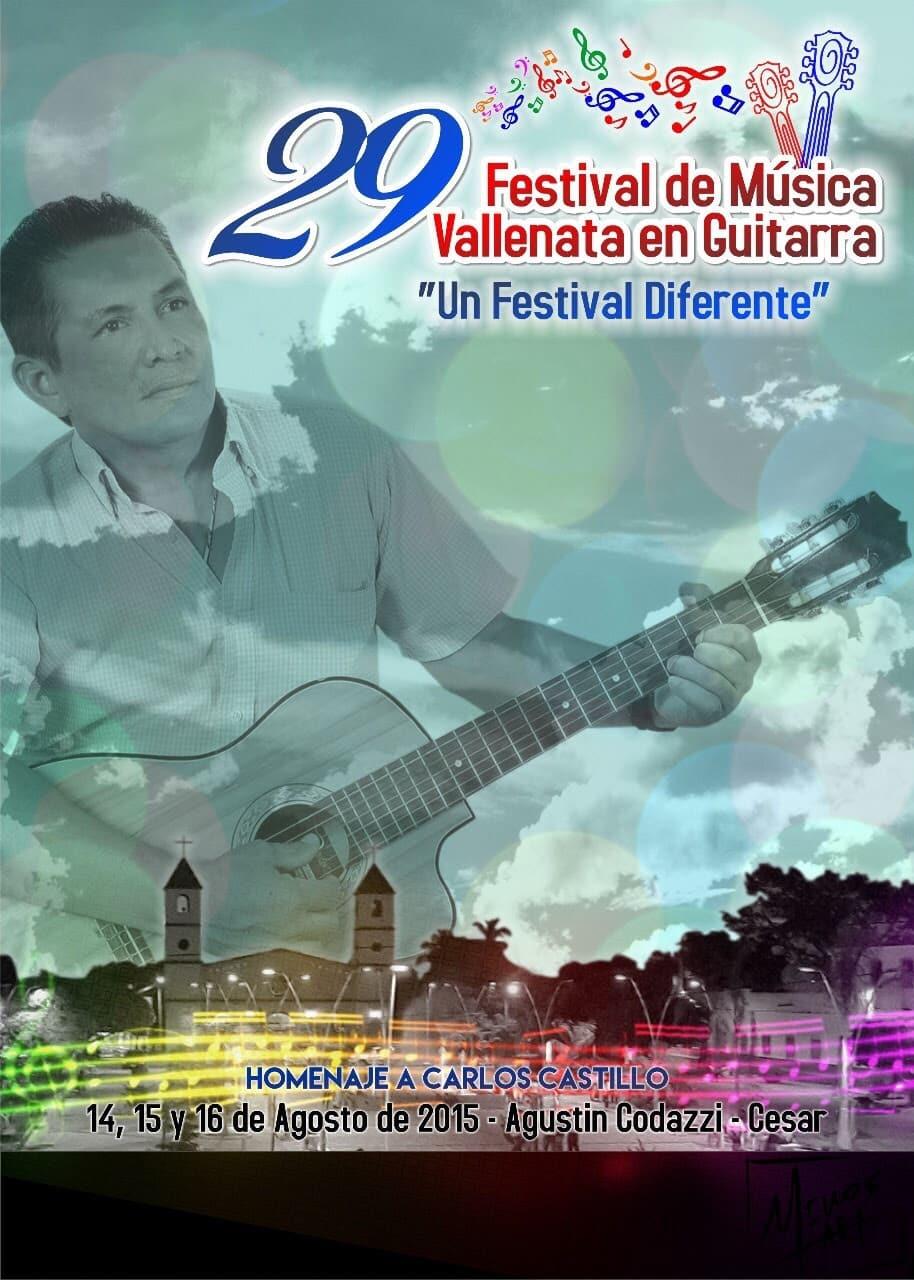 Listado de canciones clasificadas en el Festival de Musica Vallenata en Guitarra – Codazzi – Cesar – 14 al 16 de agosto