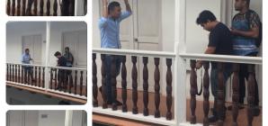 Matu Castilla está grabando el vídeo clip Agradecido Contigo