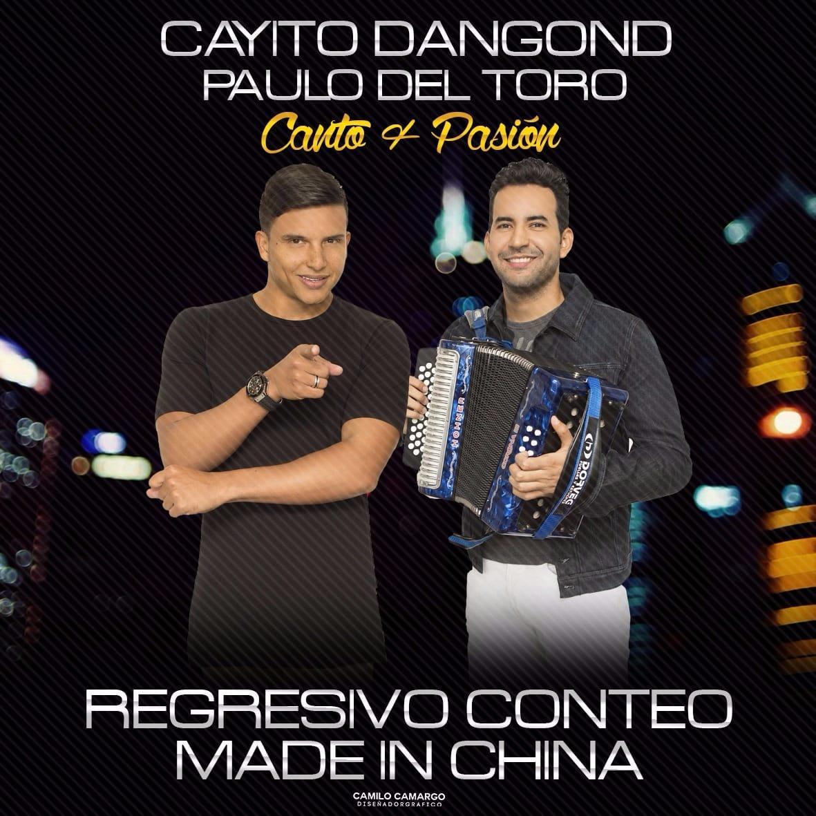 Comienza el conteo regresivo para el lanzamiento Made In China lo nuevo de Cayito Dangond y Paulo del Toro