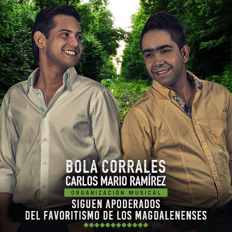 Bola Corrales & Carlos Mario Ramírez siguen apoderados del favoritismo de los magdalenenses