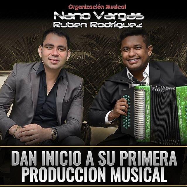 Nano Vargas & Rubén Rodríguez dan inicio a su primera producción músical