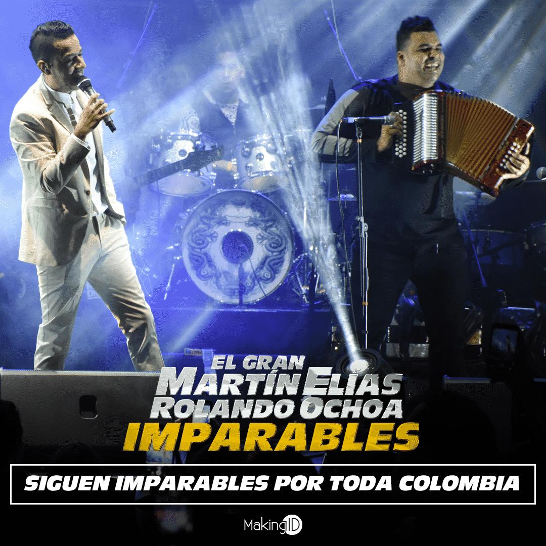 Martin Elias Y Rolando Ochoa continuan imparables por colombia