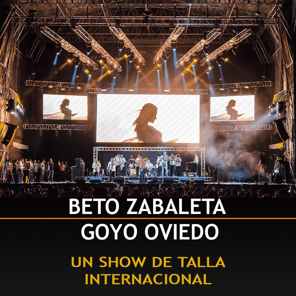 Beto Zabaleta y Goyo Oviedo Un Show De Talla Internacional