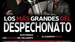 El 16 de octubre Alex Manga y El Charrito Negro en concierto Valencia
