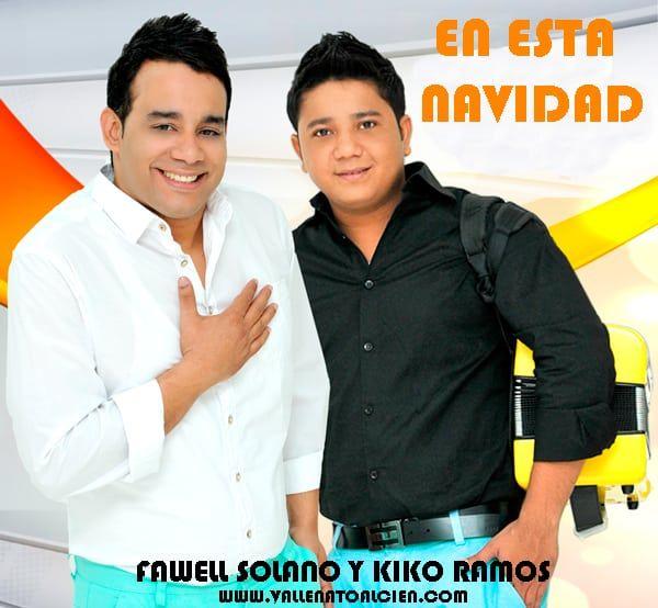 En esta navidad Fawell Solano y Kiko Ramos via @Vallenatoalcien