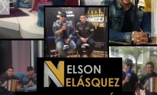 Nelson Velásquez de promoción en Bogotá