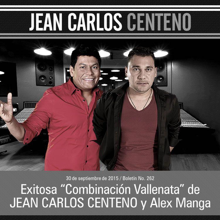 """Exitosa """"Combinación Vallenata"""" de JEAN CARLOS CENTENO y Alex Manga"""