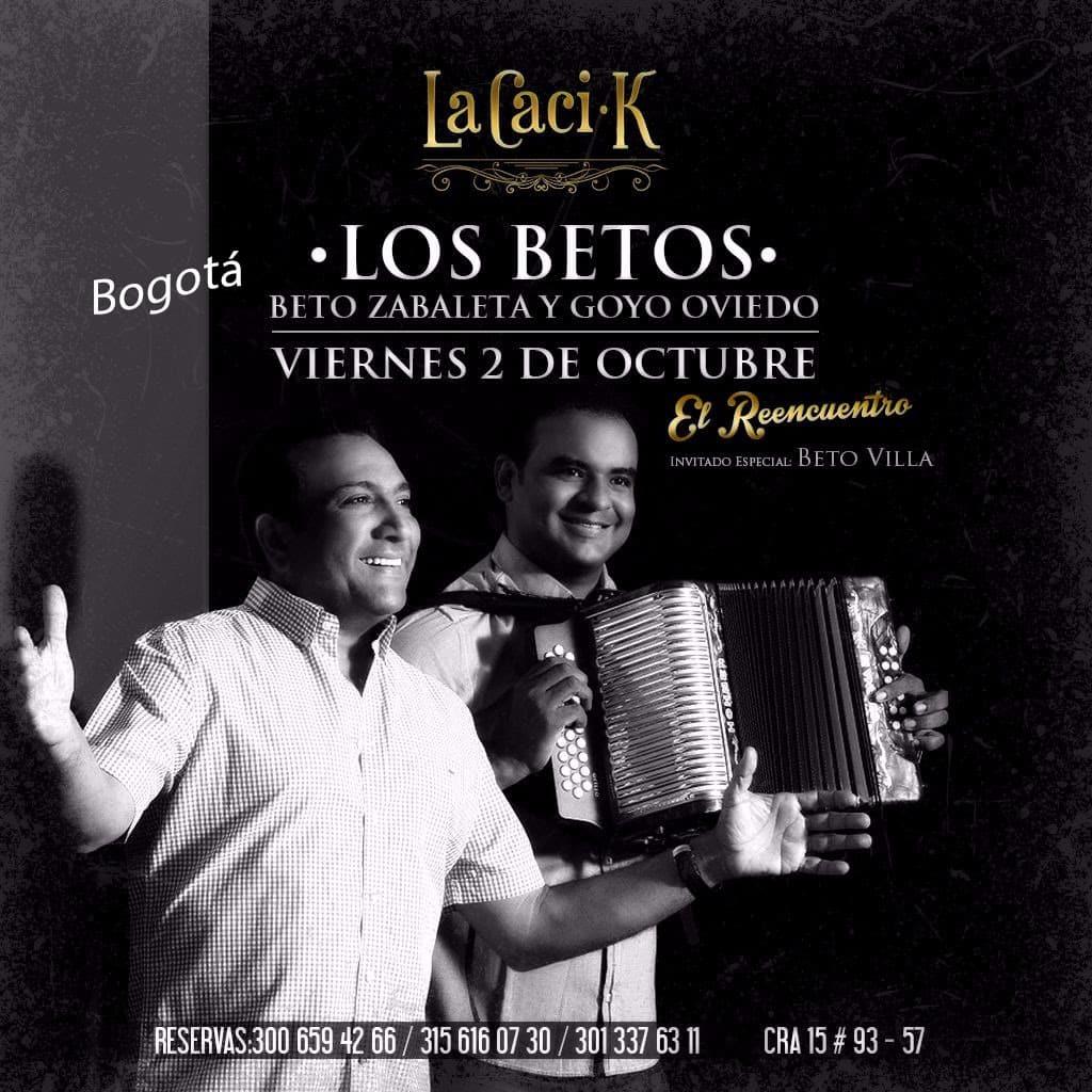Beto Zabaleta y Goyo Oviedo Rumbo A Bogotá