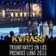 Grupo Kvrass Triunfantes En Los Premios Luna 2015