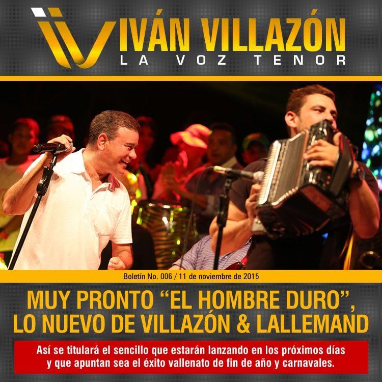 Ivan Villazon lanzará El hombre duro