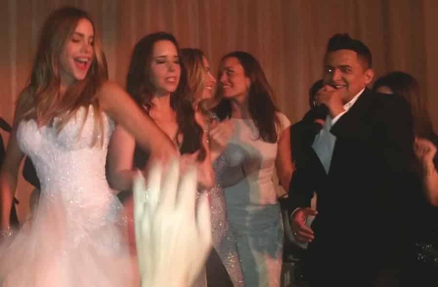 Jorge Celedon en la pre boda de Sofia Vergara