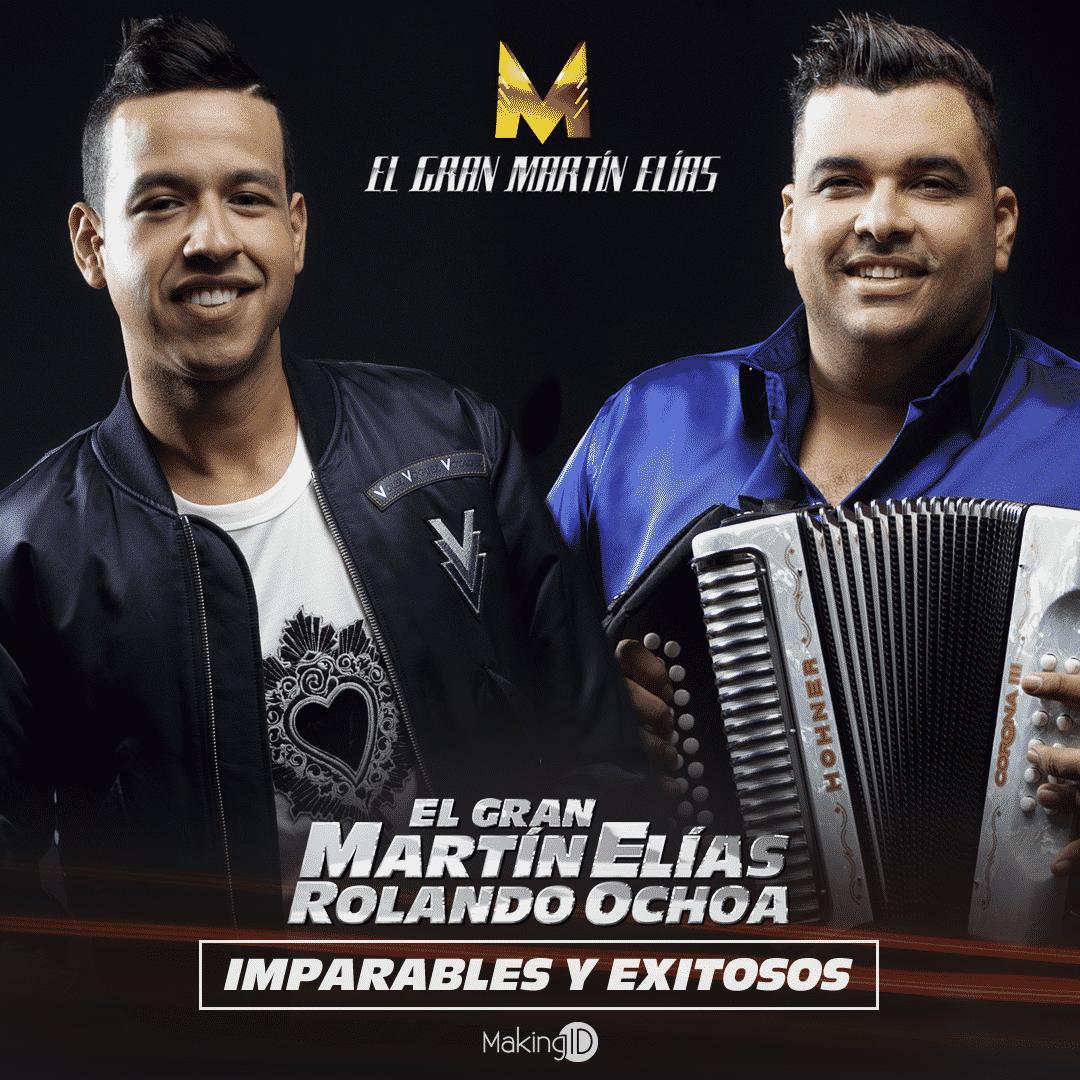 Imparable Martin Elias en el vallenato