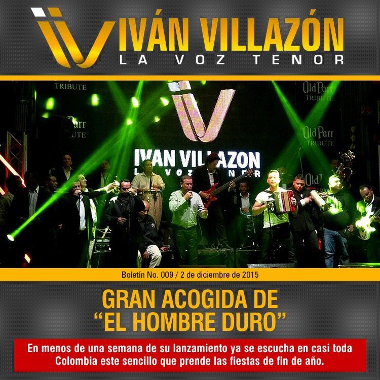 gran acogida del hombre duro Ivan Villazon
