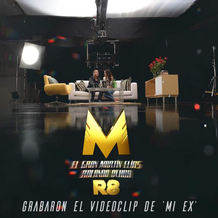 Martin Elias y Rolando Grabaron el video mi ex