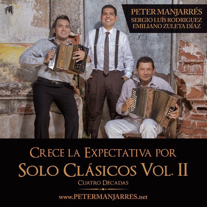"""CRECE LA EXPECTATIVA POR """"SOLO CLÁSICOS Vol. II - CUATRO DÉCADAS"""""""