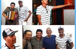 Farid Ortiz cantó para Los Hermanos Zuleta