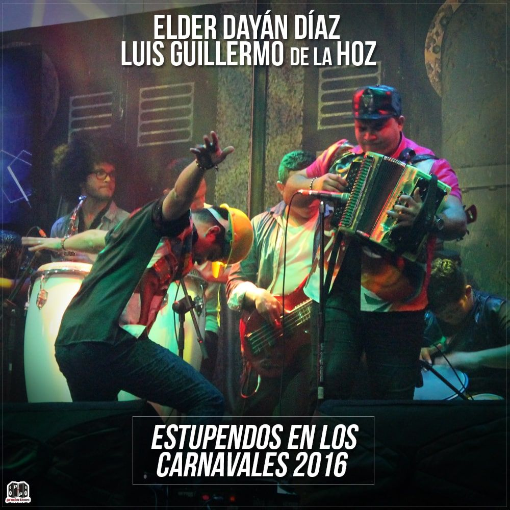 Elder Diaz & Luis Guillermo de la Hoz estupendos en los carnavales 2016