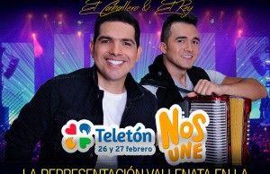 Peter Manjarres en la Teletón Colombia 2016