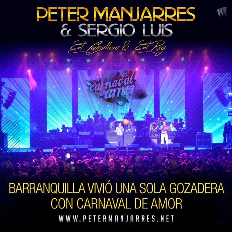 """""""Carnaval de Amor"""" de Peter Manjarrés & Sergio Luís Rodríguez."""