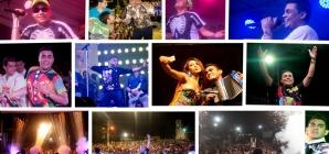 Churo Diaz & Elias Mendoza prendieron los carnavales 2016