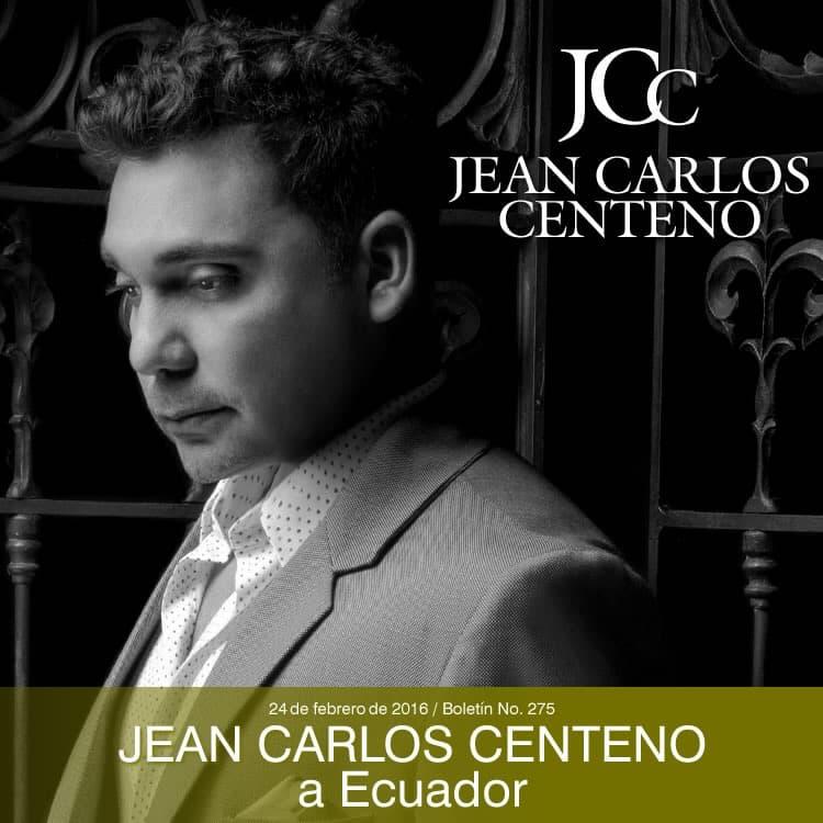 Jean Carlos Centeno a Ecuador